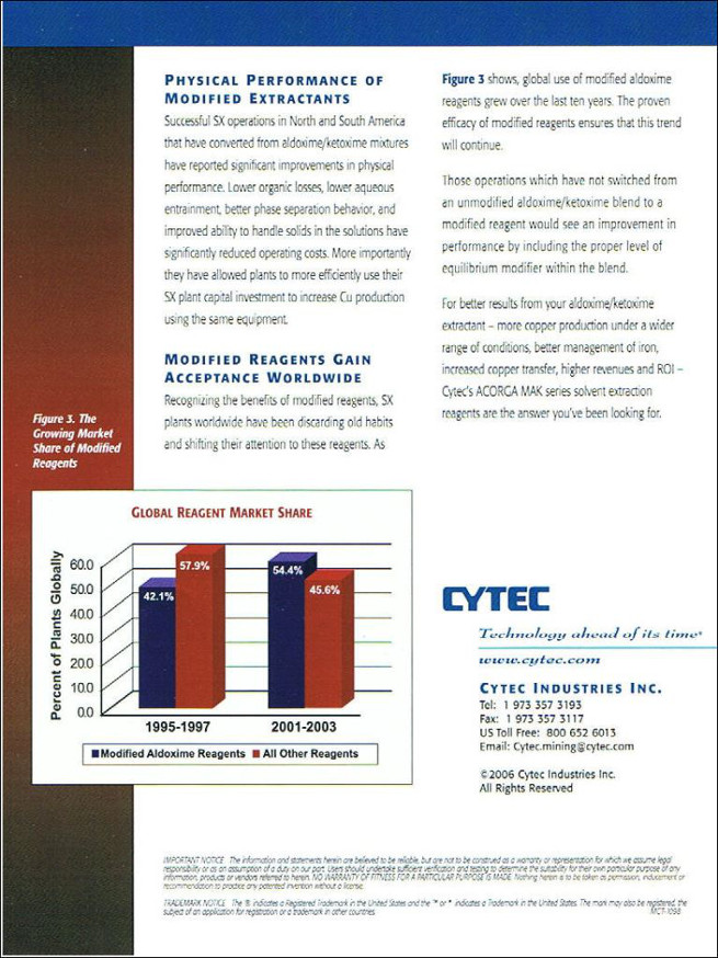Cytec – Solvent Extraction Reagents