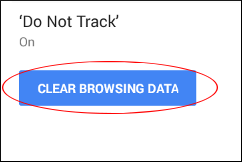 Press Clear Browsing Data